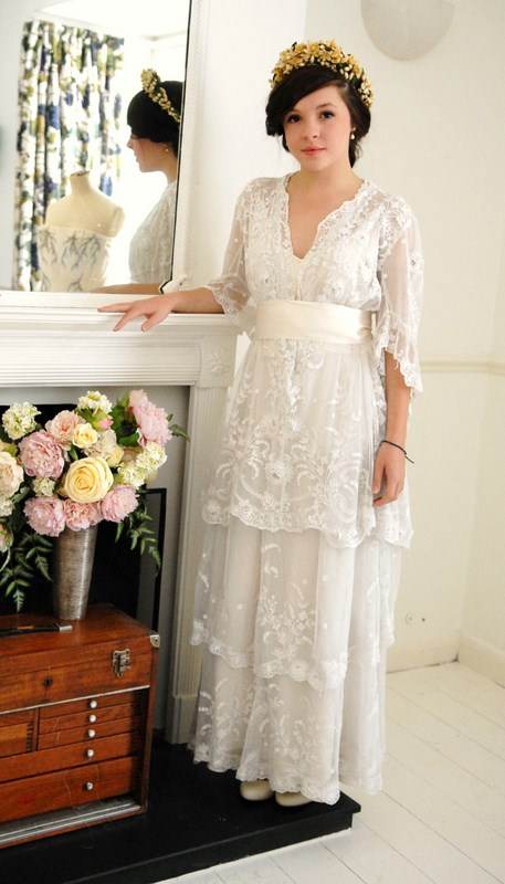 Edwardian wedding dresses | Abigail\'s Vintage Bridal