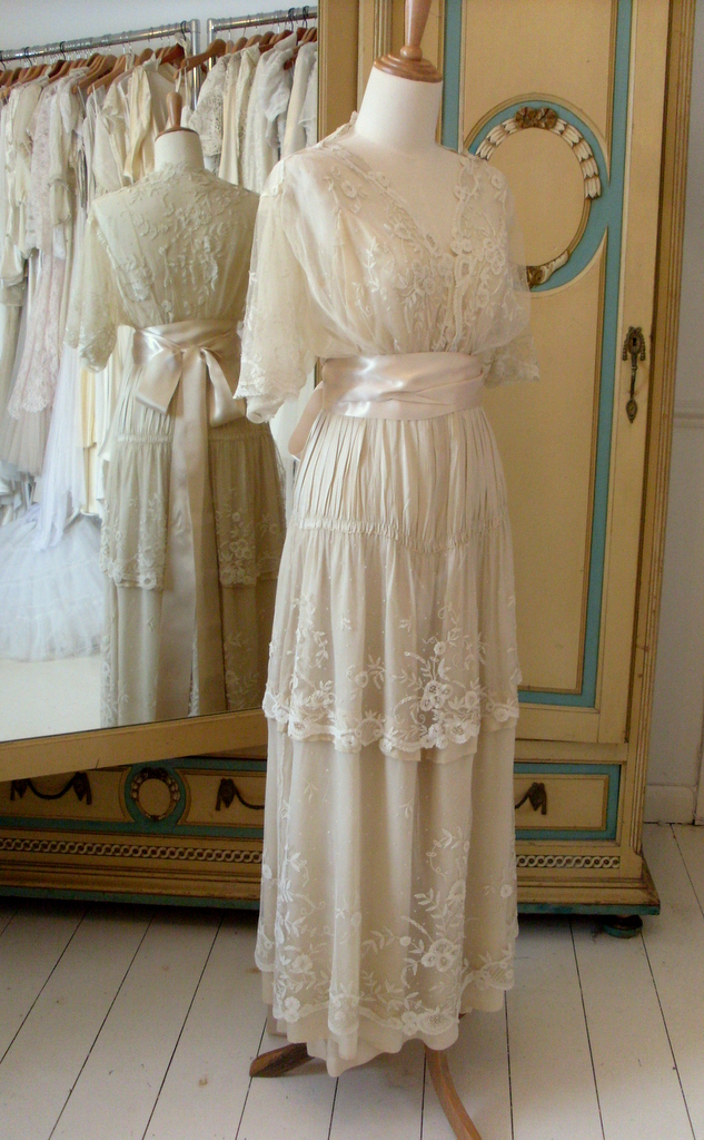 Edwardian Wedding Dresses Abigail S Vintage Bridal