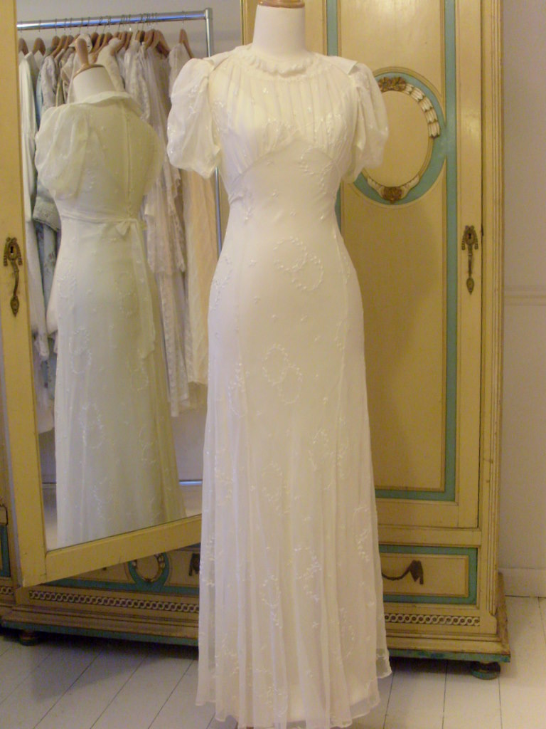 1930s Wedding Dresses Abigail S Vintage Bridal