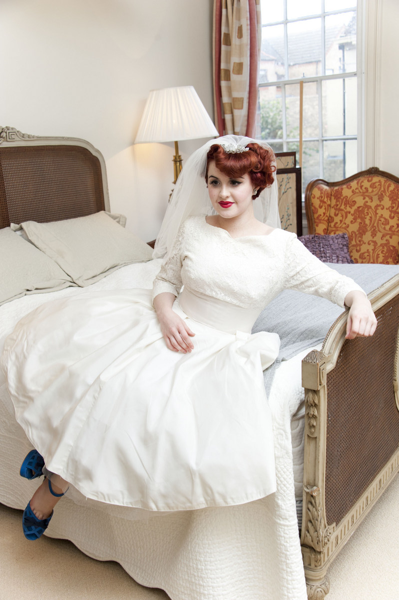 dior style wedding dress | Picture tag | Abigail\'s Vintage Bridal