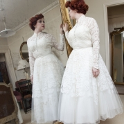 1950s vintage wedding dresses