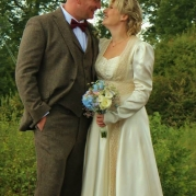 Real brides in original vintage wedding dresses by Abigail's Vintage Bridal