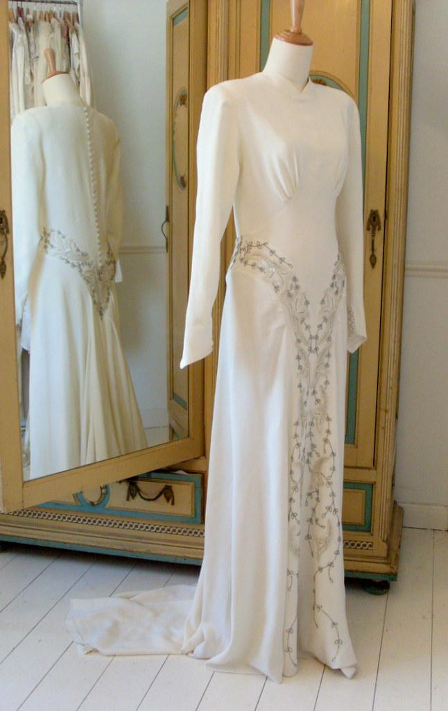 1940s Wedding Dresses Abigail S Vintage Bridal