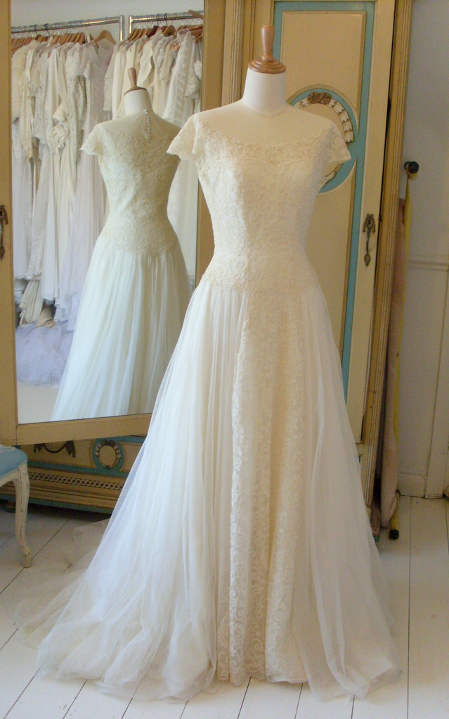 1950s Wedding Dresses Abigail S Vintage Bridal