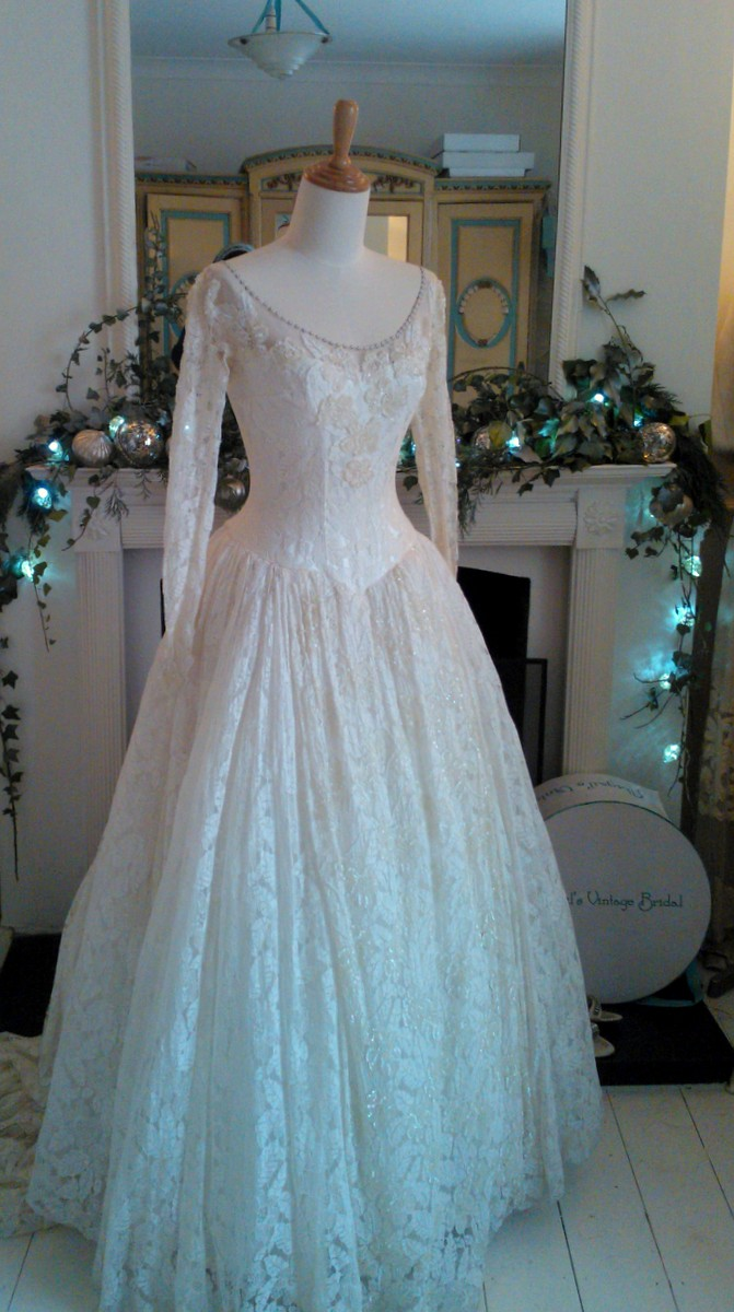 1950s Wedding Dresses Abigail S Vintage Bridal